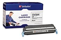 HP 023942953517 Black Toner Cartridge for LaserJet 5500 and 5550 Series Printers - Replaces HP C9730A