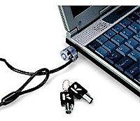 Kensington MicroSaver 64186F 6 Feet Custom Notebook Lock Master Keyed