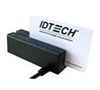 Id Tech Minimag 2 Idmb-334112b Usb Keyboard Emulation 2-track Magstripe Reader - Black