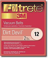 3M 023169121461 Filtrete Dirt Devil 12 Belt - 2-Pack