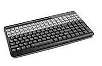 Cherry Electrical SPOS G86-61410EUADAA Keyboard - Qwerty - 135-Key - 14 inches - USB - Black
