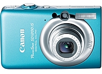 Canon Powershot 3449b001 Sd1200 Is 10 Megapixels Digital Camera - 4x Digital Zoom/3x Optical Zoom - 2.5-inch Lcd Display - Blue