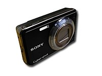 Sony Cyber-shot DSC-W290/B Black 12.1 Megapixel 5x Optical Zoom Point & Shoot Digital Camera with 3-inch Color LCD Screen DSC-W290/B