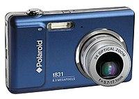 Polaroid CTA-00831H t831 8.0 Megapixels Digital Camera - 3x Optical/4x Digital Zoom - 3.0-inch Color LCD - Blue