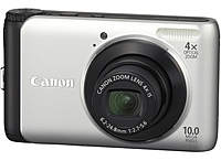 Canon PowerShot 4254B001 A3000 IS 10 Megapixels Digital Camera - 4x Optical/4x Digital Zoom - 2.7-inch LCD Display - Silver