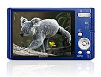 Sony Cyber-shot DSC-W330/L 14.1 Megapixels Digital Camera - 4x Optical Zoom/2x Digital Zoom - 3.0-inch LCD Display - Blue