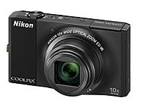 Nikon Coolpix 26191 S8000 14.2 Megapixels Digital Camera - 2x Digital Zoom - 10x Optical Zoom - 3-inch Display - Black