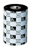 Zebra 02000BK04045 2000 Standard Wax Ribbon - Thermal Transfer - 1.57-inch x 1476 Feet - 24- Pack - Black