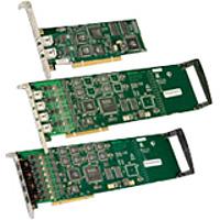 Dialogic Diva 306-388 UM-Analog Intelligent Fax Board - 2-Channels - 4-Ports - PCI Express