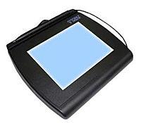 Topaz Signaturegem T-lbk766-bhsb-r Lcd 4x5 Signature Capture Pad - Dual Serial/hid-usb