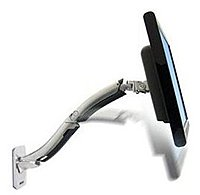 Ergotron 45 228 026 MX Wall Mount LCD Arm 30 lbs Weight Capacity