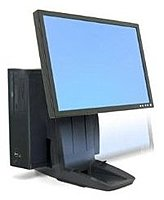Ergotron 33 326 085 Neo Flex All In One Lift Stand for Up to 24 inch LCD Screens Black