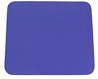 Belkin F8E081-BLU Standard Mouse Pad - Blue