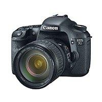 Canon 3814B010 18 Megapixels EOS 7D Digital SLR Camera - 5x Optical Zoom - 3-inch LCD Display - Black