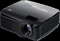 The InFocus IN102 Portable DLP Projector offers all of the essential functions and features presenters need in a reliable projector