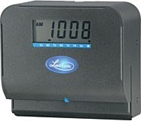 Lathem 800p Direct Thermal Print Time Clock - Charcoal Gray