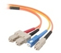 Belkin F2F90277-10M 33 Feet Mode conditioning cable - Fiber Optic - SC Single Mode Male/Male