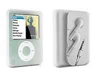 DLO 009-8410 Silicone MP3 Player Skin for 4 GB and 8 GB iPod Nano - Clear