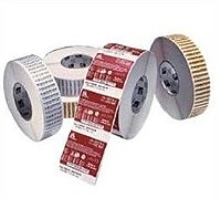 Zebra 05555BK11045 555 Standard Thermal Transfer Print Ink Ribbon - 4.3-inch x 1480 Feet - Black
