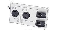 APC Symmetra LX SYPD11 Power Distribution Panel - 2 x NEMA L6-30-R - Silver, Black