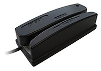ID TECH Omni WCR3237-600S Magnetic Stripe Reader - 6 mm - 1 x Keyboard - Generic - Black