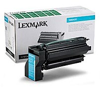 Lexmark 10B042C Laser Toner Cartridge for C750/X750E Printers - Cyan - 15000 Pages Yield - Lexmark Return Program - 1 Pack