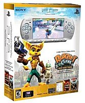Sony 98896 PSP 3000 Ratchet and Clank Entertainment Pack - 333 MHz - 64 MB RAM - 4.3-inch LCD Display - Silver