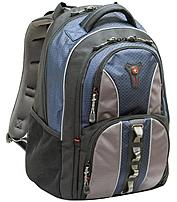 Lightweight and full of convenient pockets, the Cobalt computer backpack from Swiss Gear fits up to a 15.6 inch laptops and still has room for lots more