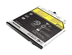 The ThinkPad DVD Burner Ultrabay Enhanced Drive II  Serial ATA  is a 12.7 mm form factor DVD Burner that writes and reads to CD and DVD optical media and is designed to slide into the native serial Ultrabay Enhanced media bay found in selected ThinkPad systems such as the ThinkPad T510 and W510 Series notebooks.