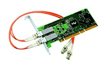 Intel PRO/1000 PWLA8492MF Dual Port Server Adapter - 1000Base-SX - PCI-X, 2 x LC - Gigabit Ethernet