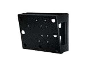Peerless DS508 Wall Mount with Computer Holder for 4.0 x 14.9 x 13.3 PC - Black