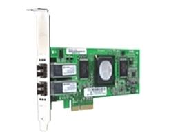 QLogic SANblade QLE2462-CK Dual Port Fiber Channel PCI Express Host Bus Adapter - 4.24 Gbps