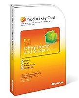 Microsoft 79G-02020 Office 2010 Home and Student for PC -License - Product Key Card - 1 User