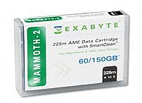 Exabyte SmartClean 00558 738 Feet AME Tape Cartridge - Mammoth-2 - 60 GB (Native)/150 GB (Compressed)