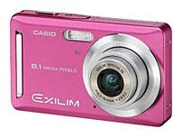 Casio EXZ9PKEBC EXZ9 8.1 Megapixles Digital Camera 3x Optical Zoom/4x Digital Zoom - 2.6-inch Display - Pink
