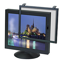 3M EF200XXLB Framed Anti-Glare Filter for Standard LCD/CRT Desktop Monitor - Black