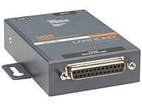 Lantronix UD1100001-01 1-Port Wall-mountable Device Server - 1 x DB-25, 1 x RJ-45