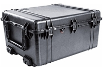 Pelican Protector Cases are made with Copolymer Polypropylene, using an open cell core and solid wall construction, which is stronger and lighter that the competion