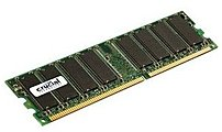 Crucial Technology CT12864Z40B 1 GB RAM Module – DDR SDRAM – 400 MHz PC3200 – DIMM 184-pin