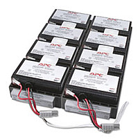 APC RBC26 Battery Cartridge 26 UPS Battery for Smart-UPS RM 2200VA XL - Lead Acid - Internal - 7000 mAh - Black