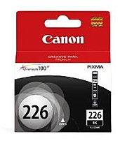 Canon 4546b001 Cli-226 Inkjet Ink Tank For Pixma Ip4820, Mg5120 And Mg5220 - Black
