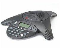 Polycom SoundStation2 2200-16200-001 Expandable Conference Phone - Tabletop - RJ-11