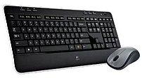 Logitech 920-002553 MK520 2.4 GHz Wireless Laser Keyboard, Mouse - 32.8 Feet - USB - Black