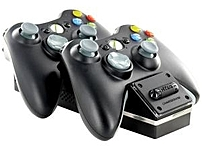 Nyko 86074 Wireless Game Controller Charging Stand for Xbox 360 Black