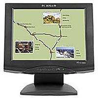 Planar Systems 997 3198 00 15 inch Touchscreen Monitor 5 wire Resistive 1024 x 768 450 1 250 cd m2 16 ms USB Speakers VGA Black