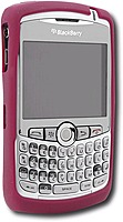 Rim Rubber Skin For Select Blackberry 8300, 8310, 8320 And 8330 Smartphones - Dark Red 30515bb