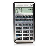 HP NW238AA 30B Business/Financial Calculator Professional Calculator - 2 Line x 12 Character - LCD - Gray, Black