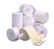 Ithaca Transact 06-0720 3-Ply Direct Thermal Receipt Paper for Printer - 3.3-inch x 85 Feet - 50-Rolls
