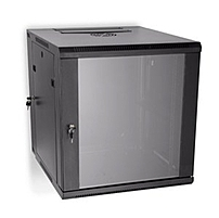 Kendall Howard Linier 3130 3 001 12 19 inch 12U Swing out Wallmount Rack Cabinet