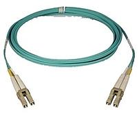 Tripp Lite N820-02M 6.6 Feet Network Cable - 10 GB Ethernet - Fiber Optic Duplex - 50/125 micron - 2 x LC Multi-Mode, Male/Male - Blue
